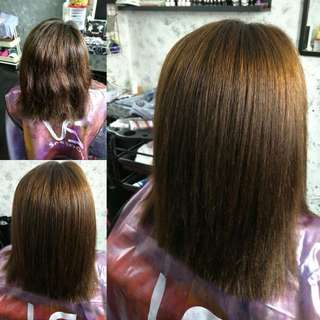 Home Based Soft Hair Rebonding services[PROMOTION]