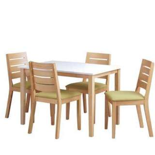 4 set dining table
