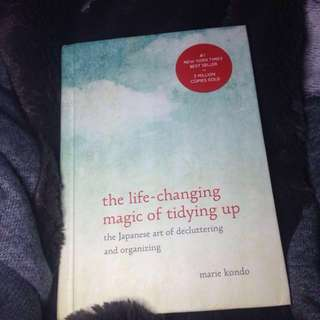 HARD COVER The life changing magic of tidying up