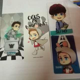 EXO Suho Ara Cards
