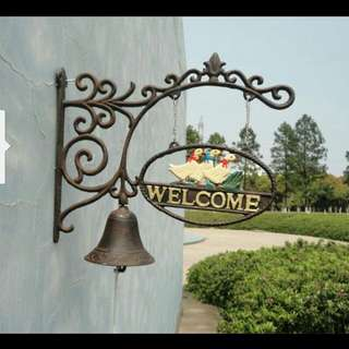 Cast iron ducks Door bells Decor