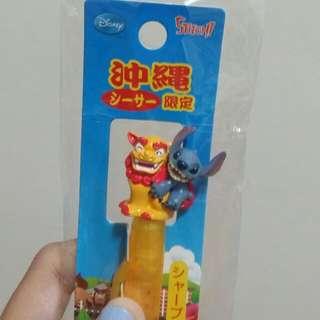 💫全新 日本沖繩限定 迪士尼 史迪奇 自動鉛筆 #含運最划算