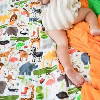 Tula Baby Blanket (Single) - Safari