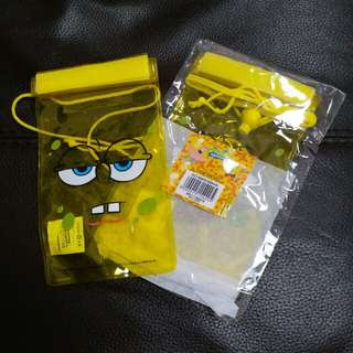 手提電話 小型防水袋  spongebob