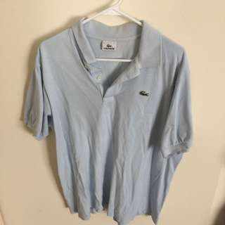 Lacoste Baby Blue Size 6
