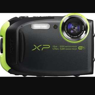 Fujifilm finepix Xp80 underwater camera