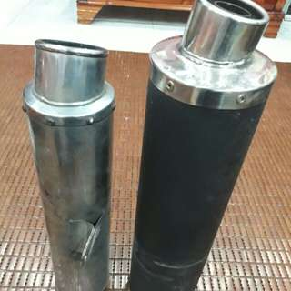 2 exhaust blade 250 & 650 for sale
