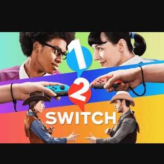 Switch 遊戲 1/2 Switch