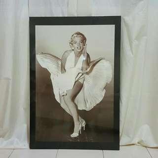 Marilyn Monroe Vintage Poster Framed