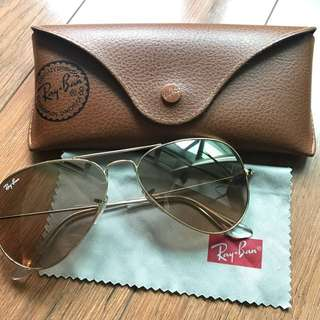Authentic Ray Ban sunglasses (unisex)