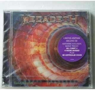 MEGADEATH - SUPER COLLIDER Limited Edition - 3D cover artwork