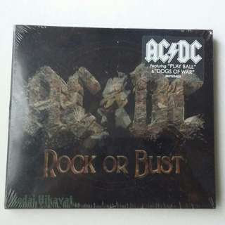 ACDC - Rock or Bust (Special lenticular 3D display - Album Cover Art)