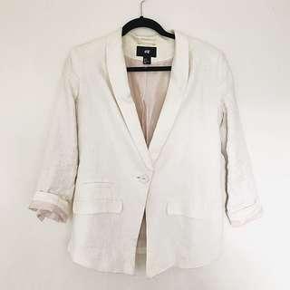 H&M Linen Blazer
