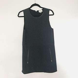 Aritzia Sleeveless Checkered Dress