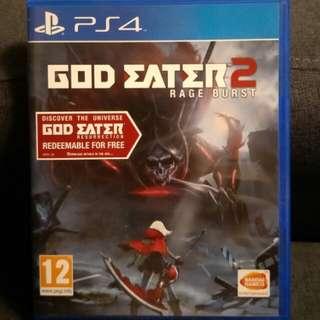 PS4 God Eater 2