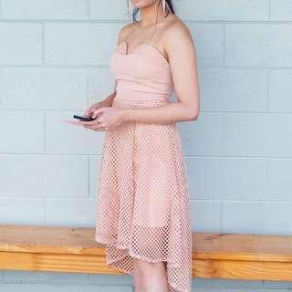 Midi Dress (Blush)