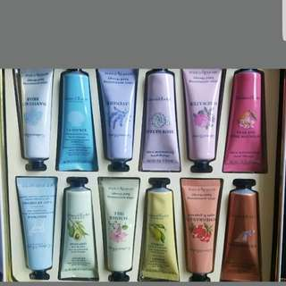 Crabtree and evelyn handcream set x12