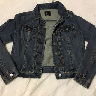 Sportsgirl denim jacket size 8