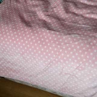 Babygirl mink blanket