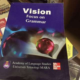 MUET Vision focus on grammar