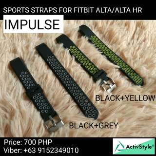 New arrival alert! Sports straps for Fitbit Alta and Alta HR. 2 colourways available!