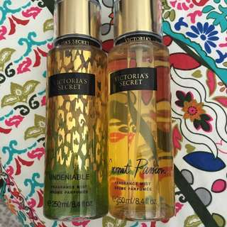 Victoria's Secret Fragrance Mist x 2