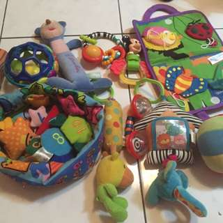 10 types of infant toys