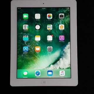 4th Generation iPad With Retina Display 16GB Wifi, White - very good condition!!