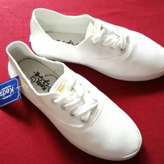 White Lace Keds Sneakers