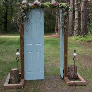 Rustic doors and frame     (Used for wedding)