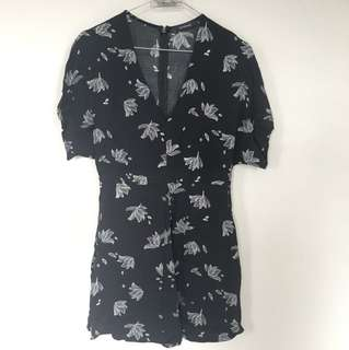 Glassons Floral Playsuit