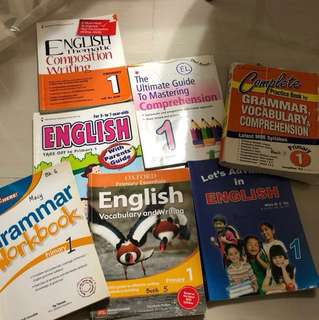 P1 English Assessments (20-50% used)