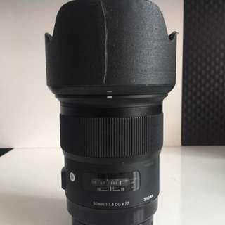 Sigma 50mm ART(Canon mount)