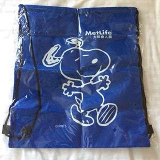 Snoopy尼龍沙灘袋