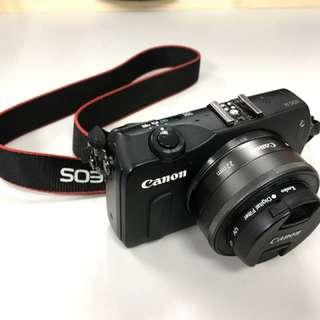 Canon eos m 單眼相機