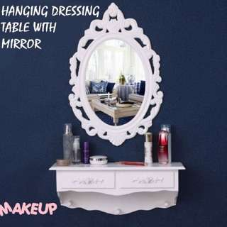 Hanging Dressing Table with mirror
