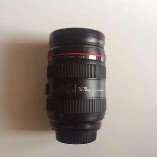 Lensa EF 24-70mm F2.8L USM Canon