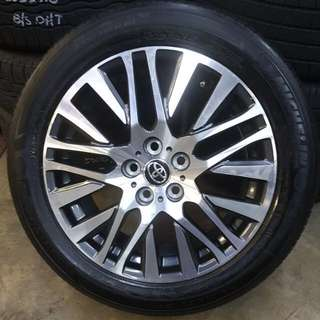"2017 18"" Original Toyota Vellfire Rims only 4sale!"