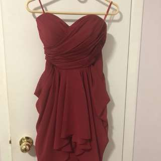 Red Prom/ wedding dress