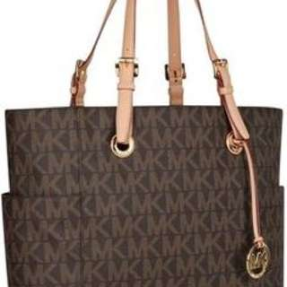 Mk monogram laptop bag