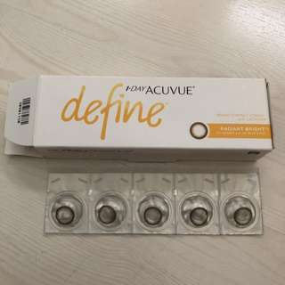 Define 1 Day Acuvue Radiant Bright