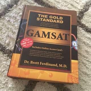 The Gold standard GAMSAT 2015 version