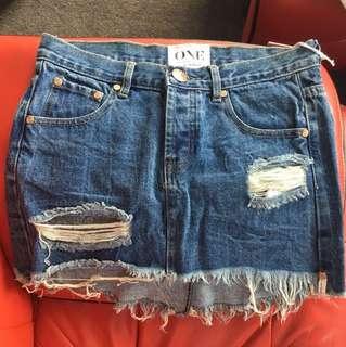 One Teaspoon Sample Skirt