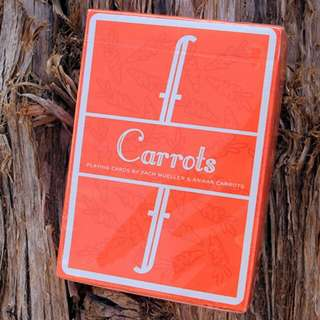 Fontaine Carrot Playing Cards
