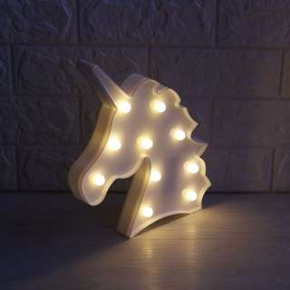 LED Unicorn Head