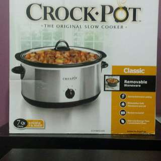 Crockpot Slow Cooker. $45. New in Box.