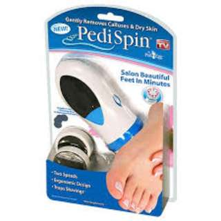 Pedi Spin for Calluses and Cracked Heel