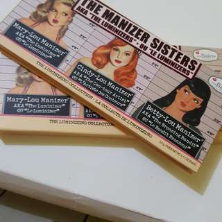 The manizer sisters (the balm)