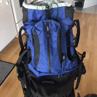 Asolo hiking camping bag