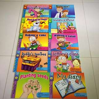 10 Bks- Interactive Reading Prog By Success Publications